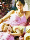 A Place In My Heart Pino Daeni Giclee Print Artist Hand Signed and Numbered