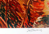 Rio Secondo Marco Sassone Serigraph Print Artist Hand Signed and Numbered