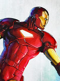 Iron Man The Armor Wars 3 Marvel Artist Francis Tsai Canvas Giclee Print Numbered