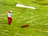 Golf Club of St Andrew Fanch Ledan Artist Proof Lithograph Artist Hand Signed and AP Numbered