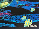 The Living Sea Wyland Canvas Giclee Print Artist Hand Signed and Numbered