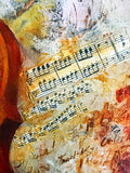 Golden Sonata - Limited Edition Giclee on Canvas by Arbe (Ara Berberyan)