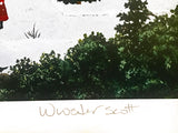 Innocent Times - Limited Edition Artist Proof Lithograph on Paper by Jane Wooster Scott