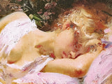 Day Dream Pino Daeni Canvas Giclee Print Artist Hand Signed and Numbered