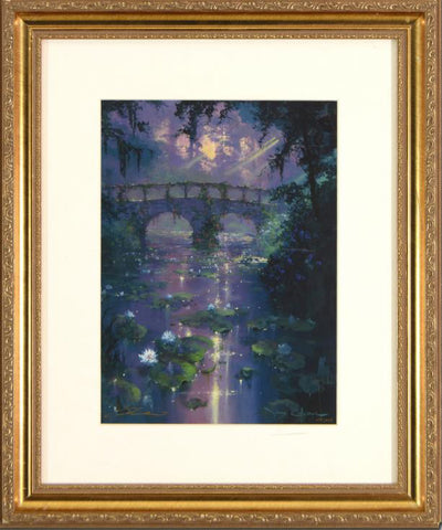 James Coleman Silence of Light Fine Art Lithograph Print Artist Hand Signed Numbered and Framed