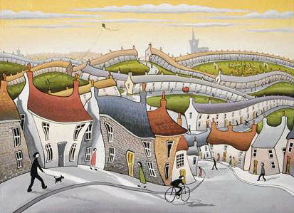 The Timeless Town John Wilson Giclee Print Artist Hand Signed and Numbered