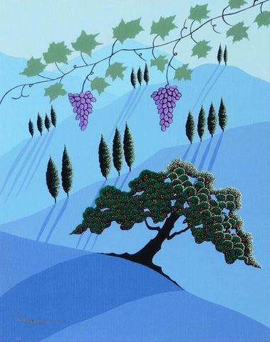 Tuscany Larissa Holt Fine Art Canvas Giclee Print Numbered with Artist Authorized Signature