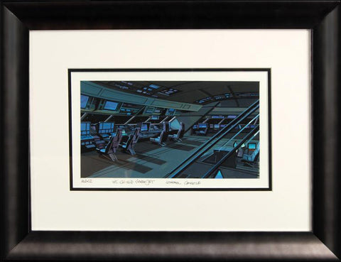 Ultimate Avengers Movie Marvel Studios Original Background Painting