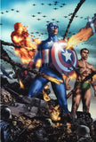 Giant Size Invaders 2 Marvel Comics Artist Jay Anaclet Canvas Giclee Print Numbered