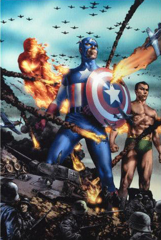 Giant Size Invaders 2 Marvel Comics Artist Jay Anaclet Fine Art Canvas Giclee Print Numbered