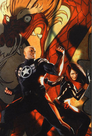 Secret Avengers 6 Marvel Comics Artist Marko Djurdjevic Fine Art Canvas Giclee Print Numbered