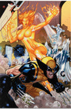 Secret Invasion X Men 4 Marvel Comics Artist Terry Dodson Canvas Giclee Print Stan Lee Hand Signed and Numbered