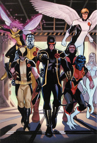 X Men Annual Legacy 1 Marvel Comics Artist Daniel Acuna Fine Art Canvas Giclee Print Numbered