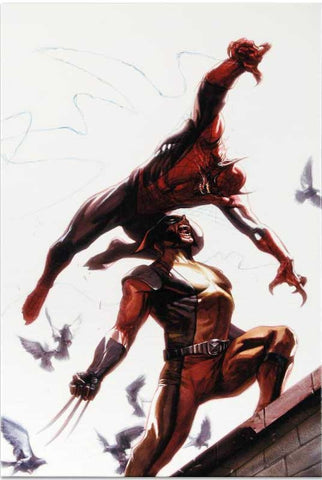 Secret Invasion 7 Marvel Comics Artist Gabriele Dell Otto Fine Art Canvas Giclee Print Numbered