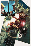 Iron Man 2 0 1 Marvel Comics Artist Barry Kitson Fine Art Canvas Giclee Print Numbered