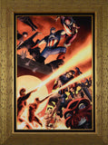Fallen Son Death of Captain America 5 Marvel Comics Artist John Cassaday Artist Proof Fine Art Canvas Giclee Print Stan Lee Hand Signed and AP Numbered
