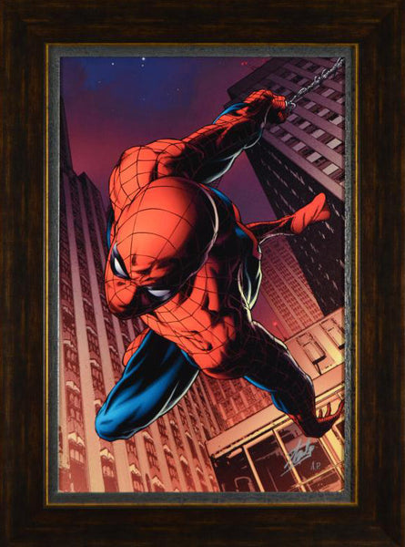 Amazing Spider Man 641 Marvel Comics Artist Joe Quesada Artist Proof Canvas Giclee Print Stan Lee Hand Signed and AP Numbered