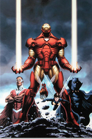 Iron Man 84 Marvel Comics Artist Steve Epting Fine Art Canvas Giclee Print Numbered