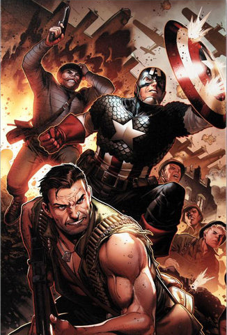 Secret Warriors 17 Marvel Comics Artist Jim Cheung Fine Art Canvas Giclee Print Numbered
