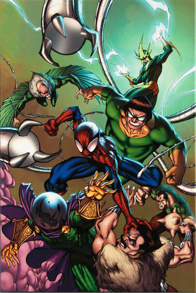Marvel Adventures Spider Man 17 Marvel Comics Artist Cameron Stewart Canvas Giclee Print Numbered