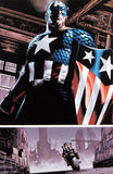 The Marvels Project 5 Marvel Comics Artist Steve Epting Fine Art Canvas Giclee Print Numbered