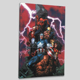 New Avengers 1 Marvel Comics Artist David Finch Canvas Giclee Print Numbered