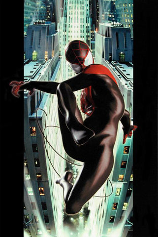 Ultimate Spider Man 2 Marvel Comics Artist Kaare Andrews Fine Art Canvas Giclee Print Numbered