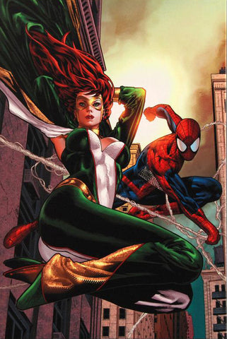 Amazing Spider Man Family 6 Marvel Comics Artist Paulo Siqueira Fine Art Canvas Giclee Print Numbered