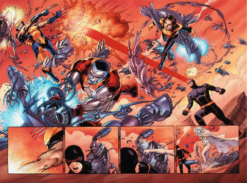 Astonishing X Men N12 Marvel Comics Artist John Cassaday Fine Art Canvas Giclee Print Numbered
