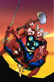 Marvel Age Spider Man Team Up 4 Marvel Comics Artist Randy Green Canvas Giclee Print Numbered