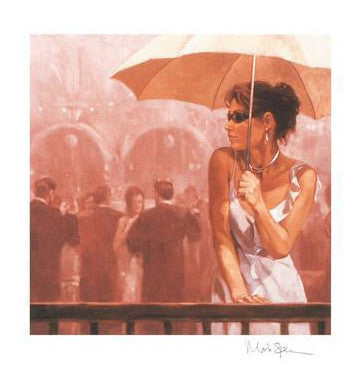 Waiting for Him Mark Spain Fine Art Giclee Print Artist Hand Signed and Numbered