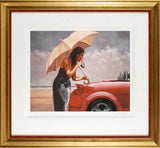Red Hot Mark Spain Artist Proof Fine Art Giclee Print Artist Hand Signed and AP Numbered