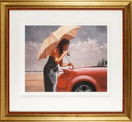 Red Hot Mark Spain Artist Proof Giclee Print Artist Hand Signed and AP Numbered