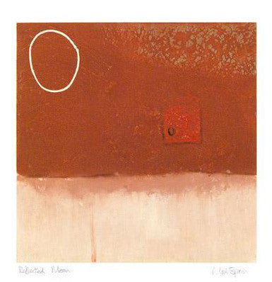 Reflected Moon Mark Spain Giclee Print Artist Hand Signed and Numbered
