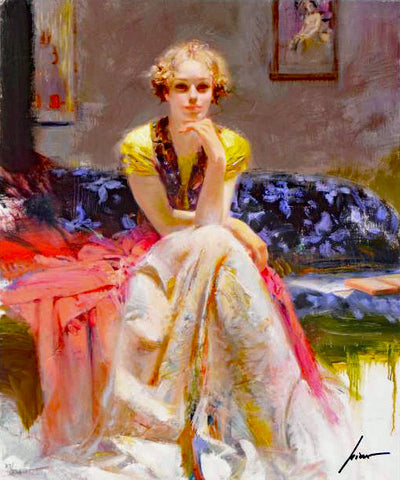 Enchantment Pino Daeni Canvas Giclee Print Artist Hand Signed and Numbered