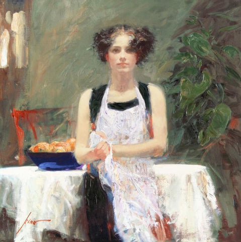 Ester Pino Daeni Canvas Giclee Print Artist Hand Signed and Numbered