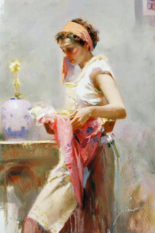 Dream Catcher Pino Daeni Canvas Giclee Print Artist Hand Signed and Numbered
