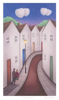 Lovers Lane Fine Art Giclee Print Artist Paul Horton Hand Signed and Numbered