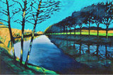 Downstream II Paul Powis Giclee Print Artist Hand Signed and Numbered