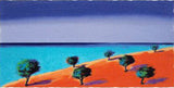 Into the Blue Paul Powis Serigraph Print Artist Hand Signed and Numbered