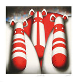 Spirit of 66 Peter Smith Print Artist Hand Signed Numbered and Framed