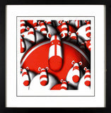 The Biggest Fan Peter Smith Giclee Print Artist Hand Signed Time Numbered and Framed