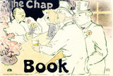 The Chap Book RE Society Hand Pulled Fine Art Lithograph Print Lithographer Hand Signed and Numbered