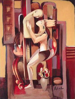 First Date Rafael Saryan Canvas Giclee Print Artist Hand Signed and Numbered