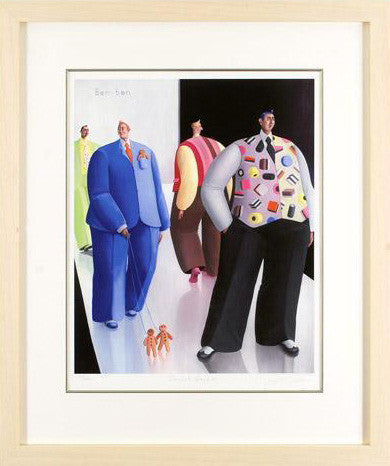 Sherbet Dandies Sarah Jane Szikora Giclee Print Artist Hand Signed and Numbered