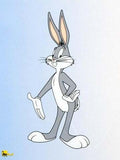 Bugs Bunny Warner Bros Looney Tunes Sericel by Authentic Images