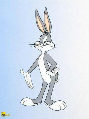 Warner Bros Looney Tunes Sericel Bugs Bunny by Authentic Images