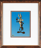 Wile E Coyote Warner Bros Looney Tunes Sericel by Authentic Images Framed