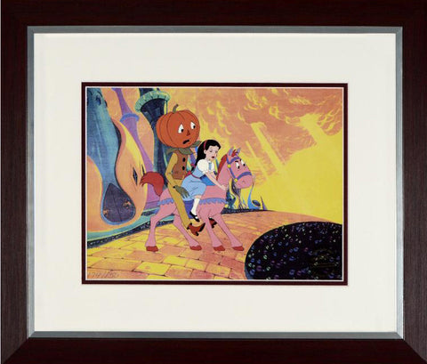 Journey Back to Oz Filmation Associates Offset Lithograph Print Framed