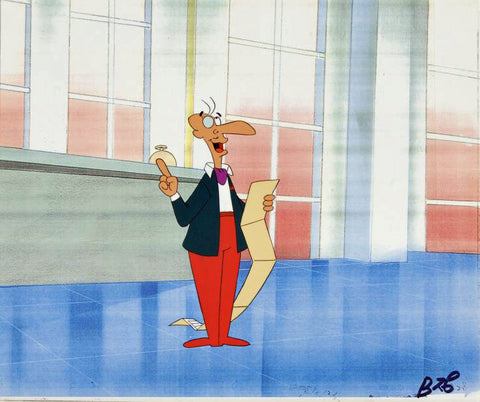 The Pink Panther Show MGM United Artists Production Animation Cel with Paired Pencil Sketch
